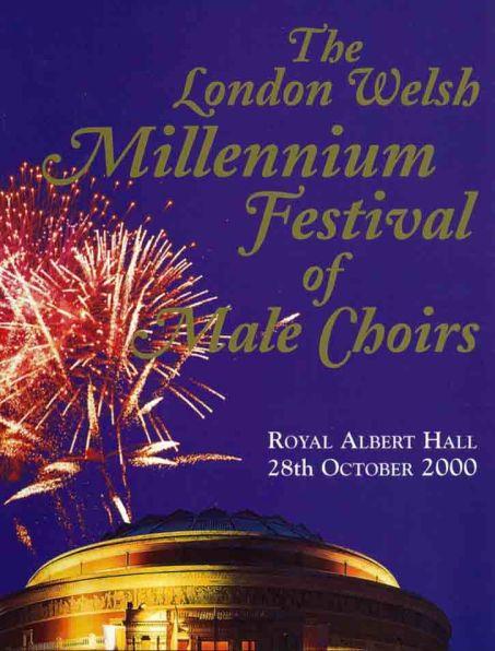 2000-10-28 Millenium Festival of Male Choirs - London Welsh