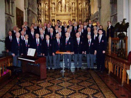 2004 October Saengerfest at St Albans Abbey Cathedral