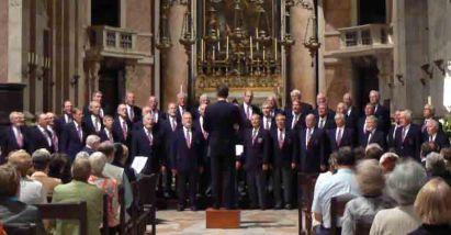 Singing in the Mafra Basilica