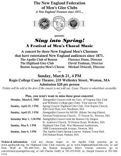 2010-03-21 New England Federation Sing Into Spring Concert