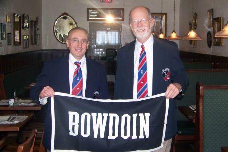 2010-05 Tim Borchers and Peter Fenton - Bowdoin College Alumni