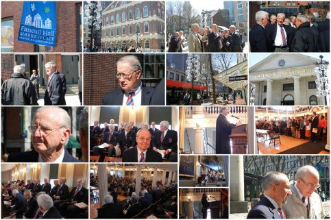 2011-03-17 Naturalization Ceremony - Faneuil Hall, Boston - Collage