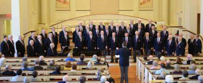 2012 Saengerfest Concert in the Wellesley Village Church