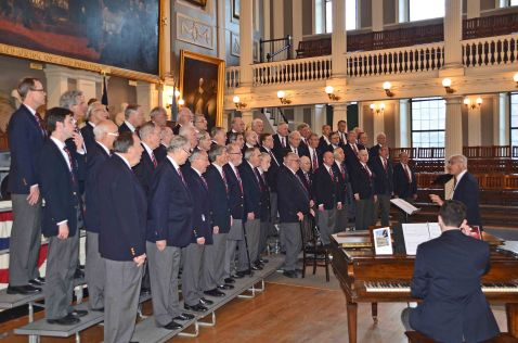 Profile of chorus - Faneuil Hall