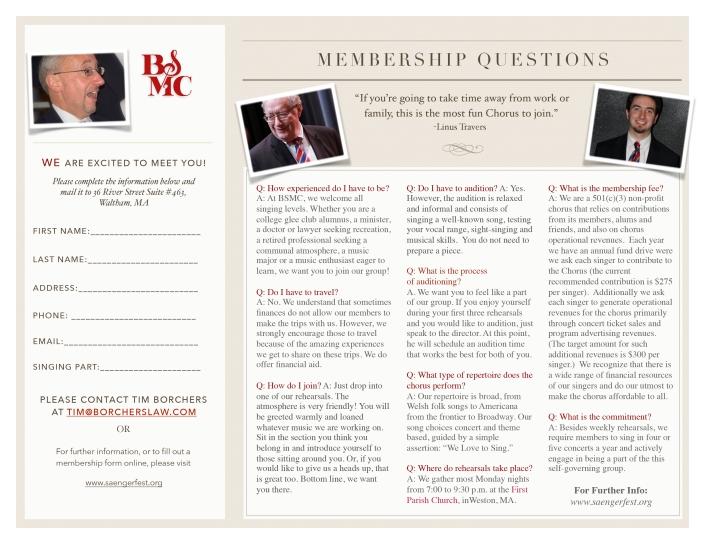 BSMC Member Recruitment Brochure 2