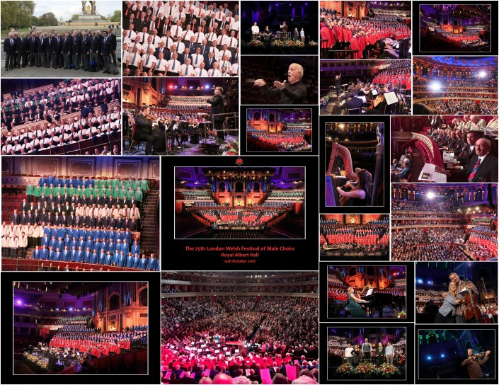 Oct 15, 2016 Royal Albert Hall Festival of Welsh Male Choirs