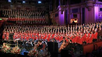 2016-10-15 Saengerfest with 12 other choruses at the Royal Albert Hall in London