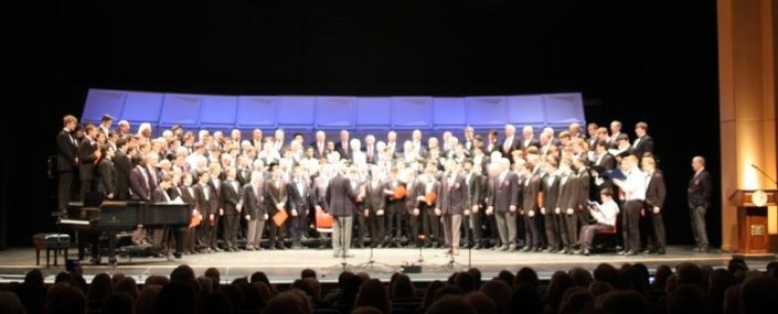 Combined Choruses, Brothers, Sing On concert 2016
