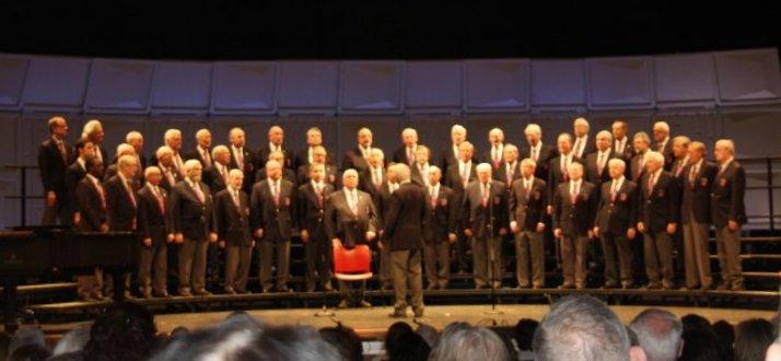 Saengerfest Chorus, Brothers, Sing On concert.JPG