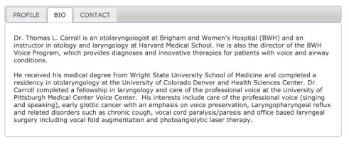 Dr Thomas Carroll - Bio