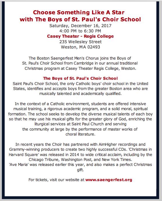 2017 BSMC Christmas Concert page 2
