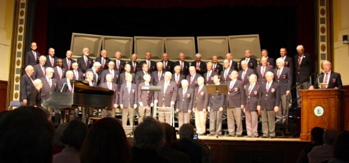April 23, 2017 02:30 PM The Chorus rehearsing at Cary Hall