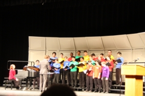 Boston Childrens Young Men's Ensemble, Trey Pratt, director