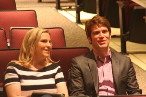 Kate Burns and Trey Pratt