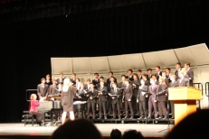 Natick High School Men's Chorus, Kate Burns, director