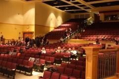 The 800 seat Natick Auditorium
