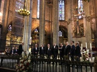 2019-05-10 Barcelona Ensemble singing O Mistress Mine (photo-Tom B)