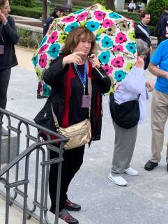Anna, tour guide, Madrid