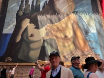 Doug Lee, Dali museum (photo-Dick Floyd)