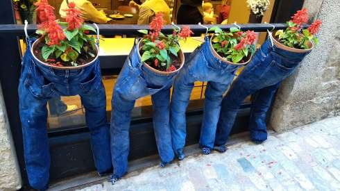 Jeans store, Girona