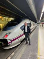 Jeff Garland, high speed rail train