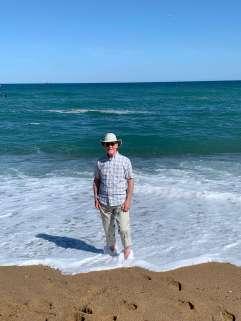 Jeff Garland in the Mediterranean