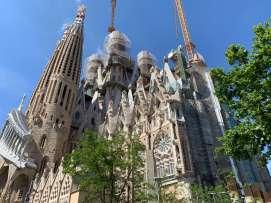 La Sagrada Familia exterior