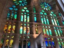 La Segrada Familia, interior (photo-Dick Floyd)