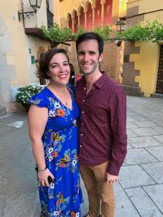 Michelle Rossi and Ben Doyle, engaged!