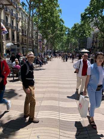 Rick Atkins, La Rambla, Barcelona