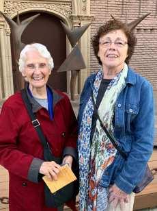 Susan Scales and Pat Conroy