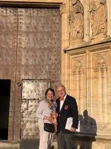 May 12 Tina and Arthur Pappas - Castello d'Empuries